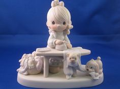 Press On - Precious Moments Figurine