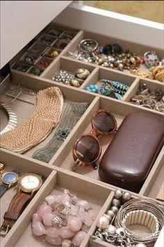 Anotações para Saber: Porta bijuterias