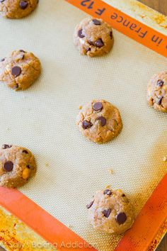 Sallys Baking Addiction Almond Butter Chocolate Chip Cookies. » Sallys Baking Addiction