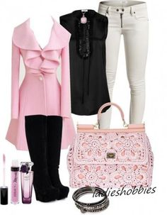 Pink outfit...super cute!!