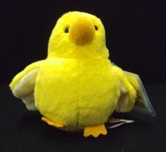 GANZ WEBKINZ Lil'Kinz Plush Toy Animal Canary HS511 Sealed code #Webkinz