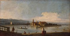View of the Isola di San Michele, San Cristoforo and Murano from the Fondamenta Nuove, Venice