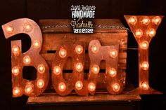 Lighted Metal MARQUEE SIGN Marquee Light by TopLineNashville, $130.00