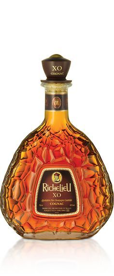 A bottle of Richelieu XO Cognac https://www.cognac-expert.com/login?back=history