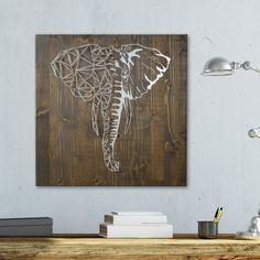 String Art - Elephant