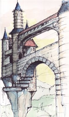 CASTELL watercolor - ink