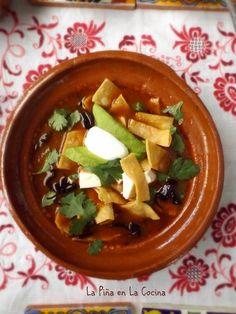 21 Mejores Imagenes De Sopa Azteca Delicious Food Mexican Food