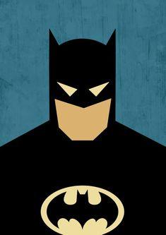 Poster Batman / Batman / Superhero Batman / Comics Poster / | Etsy