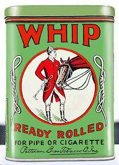 Pocket Tobacco Tin - Whip