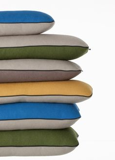 Wool pillows by Ferm Living
