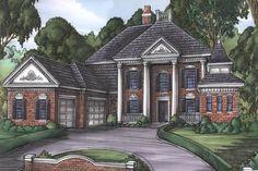 Plan 24095BG: Grand Colonial House Plan
