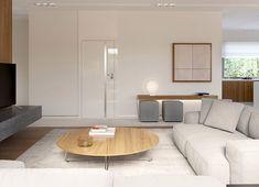 Projekt domu HomeKoncept-36 125,80 m² - koszt budowy - EXTRADOM Best Living Room Design, Small House Design, Modern House Design, Living Room Designs, Beautiful House Plans, Beautiful Homes, Home Design Plans, How To Plan, Furniture