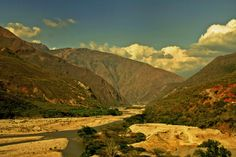 One of the mightiest places i've seen in Colombia, it may not be the beautiest but it certainly is majestic! It's the Chicamocha Canyon Canon, Way Down, Belleza Natural, Landscapes, David, Nature, Travel, Colombia, Places To Visit