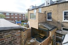 Rear view of house Bethnal Green, Built In Furniture, Rear View, Design Process, Ecology, Architecture Design, Modern Design, This Is Us, Building