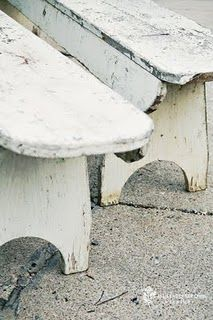 I have a couple of benches that I want to look like this. Will put at the foot of the beds.