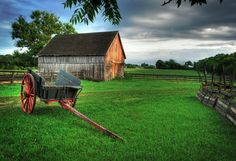 Garfield Farm (near Geneva) served as a stop for travelers crossing the Illinois prairie in the 1800s