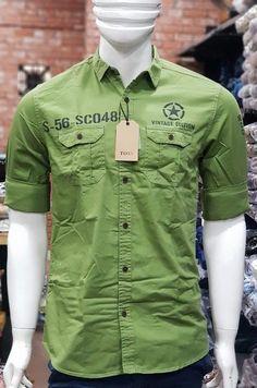 Cargo Shirts, Boys Shirts, Polo Shirt Design, Mens Hawaiian Shirts, Clothing Labels, Kids Wear, Daily Wear, Shirt Style, Shirt Designs