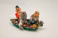 King Salmon Fishing & Saltwater Fisherman Birthday Retirement Gift Collectible.   #figurine # Retirement #Christmas #fathers day #birthday #musgrave #collectible #guitar