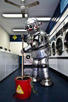 Tubby the Robot, photo by James Debenham