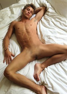 """sinfullyhungry: """"Jake plans to surprise his boyfriend after his trip to the Nullifying Clinic. Who wouldn't want to come home from work to this in bed? """""""