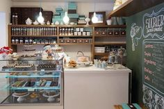 Nothing beats a quality mug of coffee everytime you need a demolish between retailers or features. Cake Shop Interior, Bakery Interior, Cafe Interior Design, Cafe Design, Cafeteria Vintage, Mini Cafeteria, Bakery Decor, Bakery Display, Home Bakery