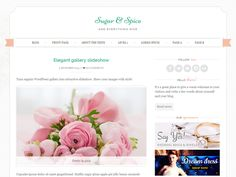 WordPress › Sugar and Spice « Free WordPress Themes