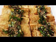 Panfried tofu with spicy sauce  (Dubu buchim yangnyumjang)