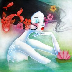 The mermaid princess - Illustrations ~by Lady Sybile~
