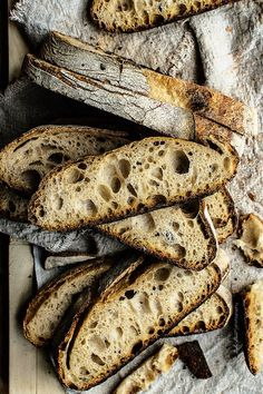 ... tabatière bread (a traditional French bread made with wheat flour and hydrated about 65%) ...
