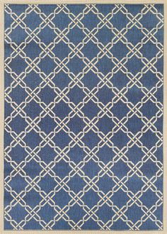 Five Seasons Blue/Cream Rug