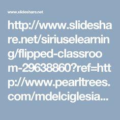 Presentación sobre el flipped classroom