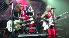 "Lita Ford &  Lzzy Hale  ""Close My Eyes Forever"" Live @ Webster Hall - YouTube"
