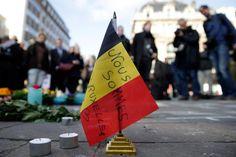 Attentats de Bruxelles: du monde entier, les hommages pleuvent