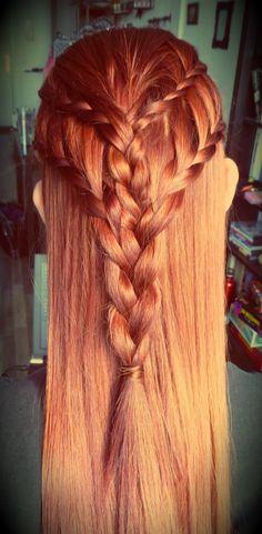 Game of Thrones Daenarys inspired braids :)