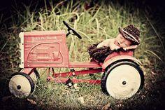 creative newborn boy photography | Newborn Photo Prop Baby Boy Cowboy Hat by MitziKnitz on Etsy