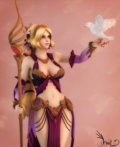 Aphrodita by Yvellblonde.deviantart.com on @DeviantArt