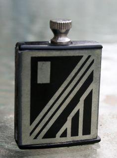 1930s Art Deco Match King Pocket Striker Lighter