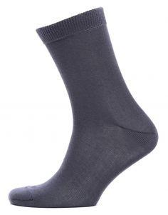 Мужские носки серого цвета, бамбук