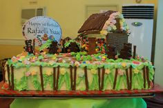 Ysaac's Hansel and Gretel Themed Party – Birthday Cake