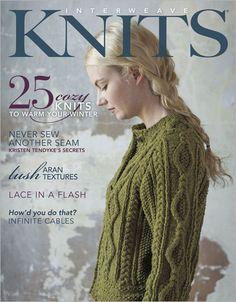 Kristen TenDyke's Blog: I'm featured in Interweave Knits, Winter 2012!