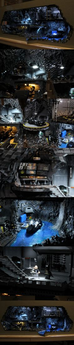 Batmans Bat Höhle aus 20.000 LEGO Teilen  http://lofter.de/20-07-2014/batmans-bat-hoehle-aus-20-000-lego-teilen/