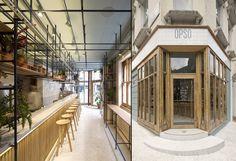 OPSO greek restaurant by K-studio, London – UK » Retail Design Blog