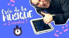 Nouvelle video -> créer de la #musique en 2 minutes !!