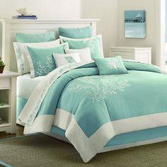 Coastline Comforter Set - would love this in chocolate brown master bedroom