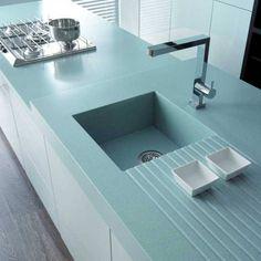 Corian Kitchen Counter