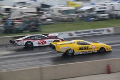 #ProMod dragsters running at Norwalk 2013 @JEGS Performance