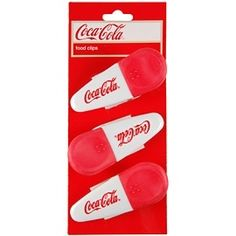 Coca-Cola Food Clips by Cenika