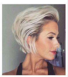 Super Sexy en Stijlvol: 10 korte looks in een prachtige as blonde kleur! - Kapsels voor haar