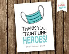 Personalized Notecards Stationary Essential Workers Hospital Stationery Thank You Note Thank You Card Thinking of You Front Line Hero Thank You Gifts, Thank You Cards, Thank You Poster, Nurses Week Quotes, Line Worker, Nursing Notes, Personalized Note Cards, Party Items, As You Like