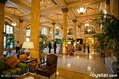 The Willard Hotel, Lobby, Washington DC